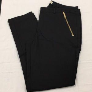 Michael by Michael Kors black skinny dress pants